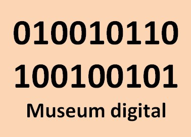 Museum digital Button