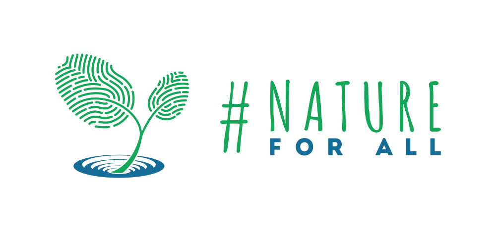 Nature for All - Logo und Link.